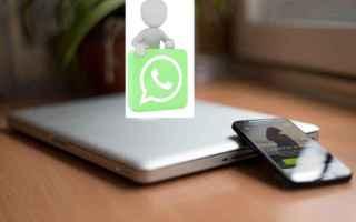 WhatsApp: condividere file  pc  cellulare
