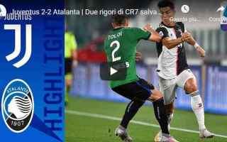 juventus atalanta video calcio gol