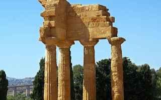 Cultura: agrigento  archeologia  valle dei templi