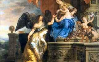 Arte: murillo  novelli  pittura  santa rosalia