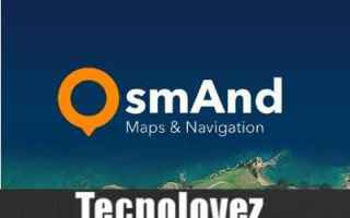 App: osmand app mappe