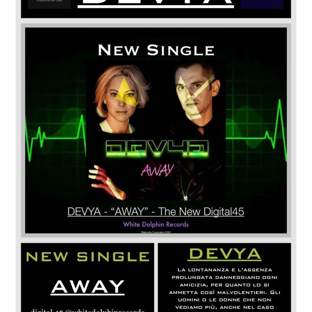 musica singolo synthpunk darkwave devya