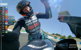 MotoGP: GP DI SPAGNA: DOPPIETTA YAMAHA QUARTARARO 1 VINALES 2 DOVIZIOSO SUL GRADINO PIÙ BASSO DEL PODIO