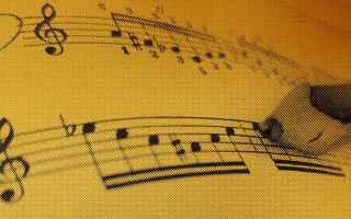 Musica: spartiti musicali  note musicali