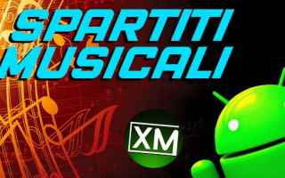 musica android spartiti accordi music
