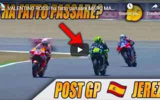 MotoGP: rossi marquez video moto motori