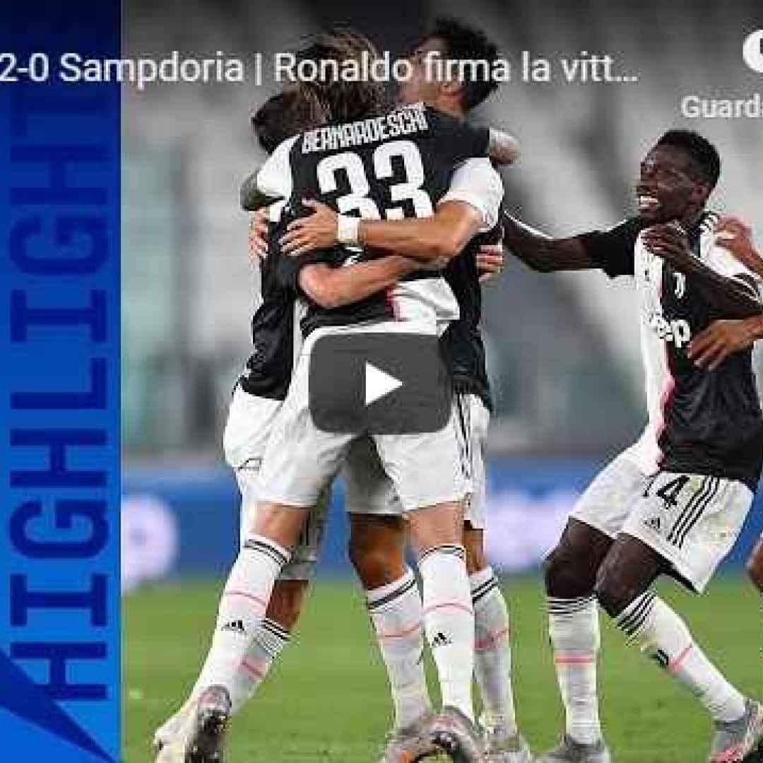 juventus sampdoria video calcio gol