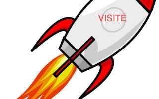 Siti Web: aumentare  traffico  visite  sito  blog