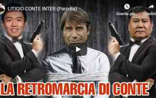Calcio: conte gli autogol video parodia inter