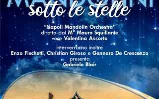 """Tutto pronto per """"Mandolini sotto le Stelle"""", il concerto-evento che torna ogni anno nel mese di"""