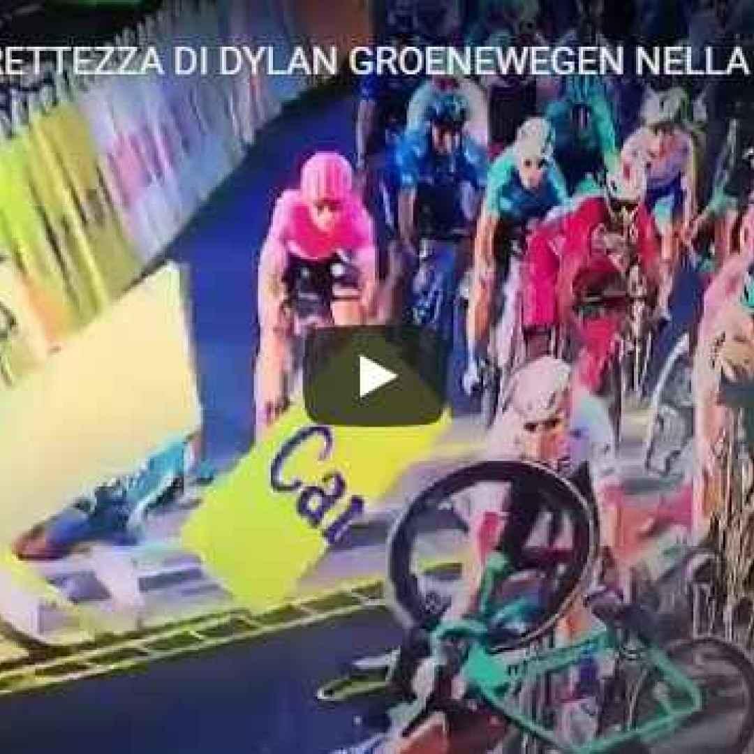 polonia ciclismo sport video incidente