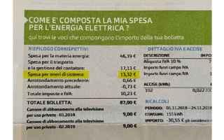 Fisco e Tasse: bolletta della luce  oneri di sistema