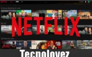 Internet: netflix nuova funzione