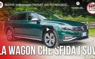 Motori: auto volkswagen passat video
