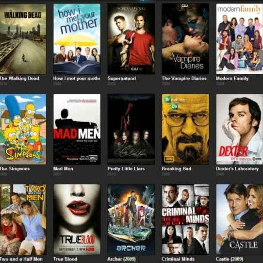streaming  serie tv  alta definizione