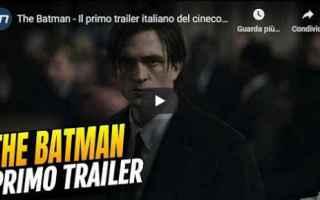 Cinema: trailer the batman film cinema video