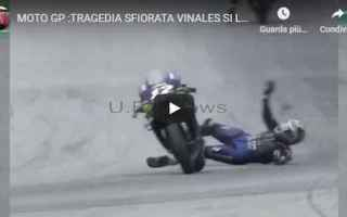 MotoGP: incidente moto motori vinales video
