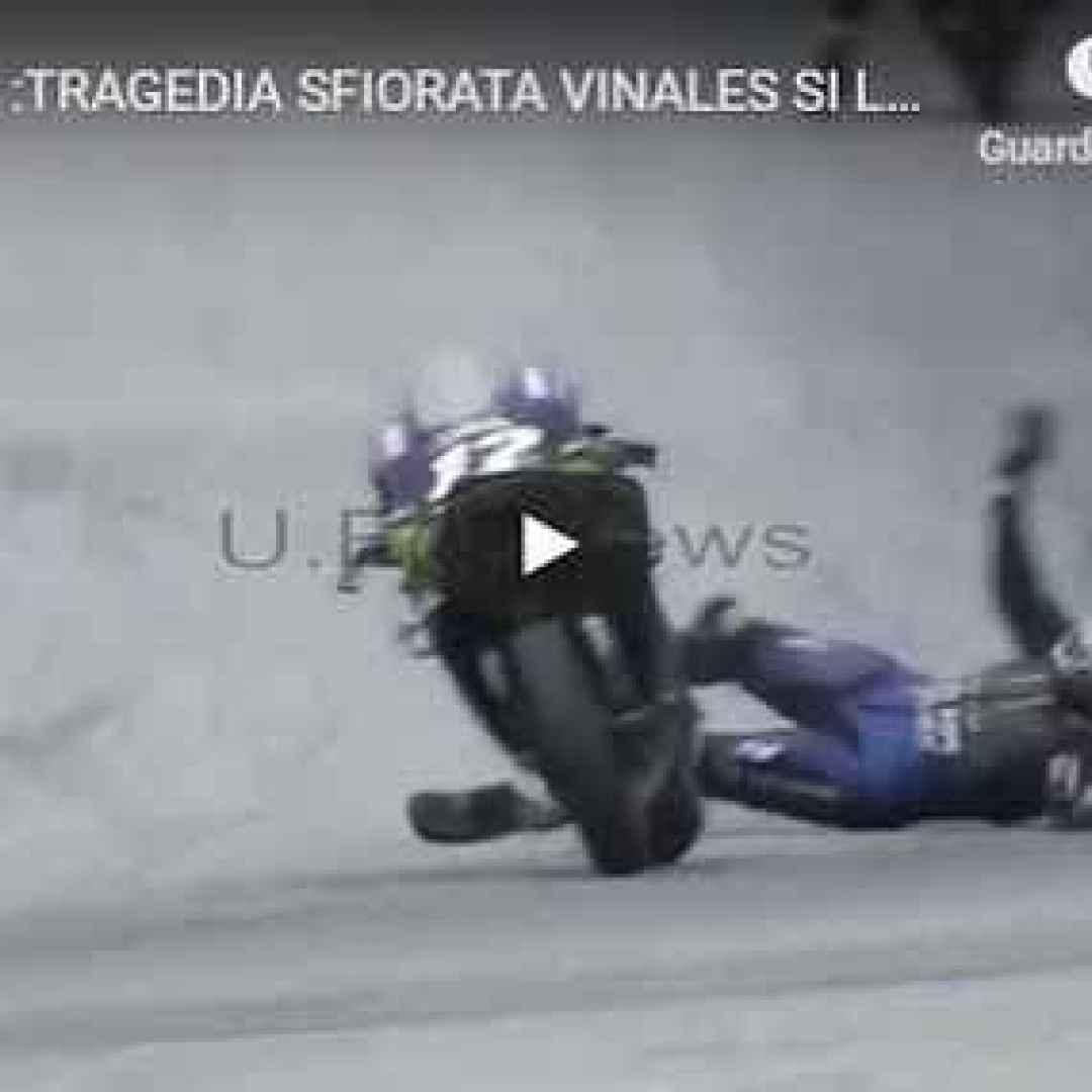 incidente moto motori vinales video