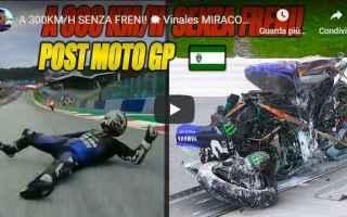MotoGP: motori moto vinales video incidente