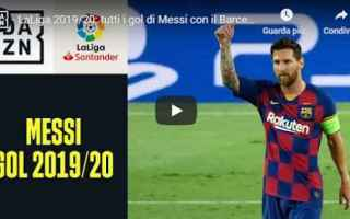 Calcio Estero: messi barcellona gol video calcio