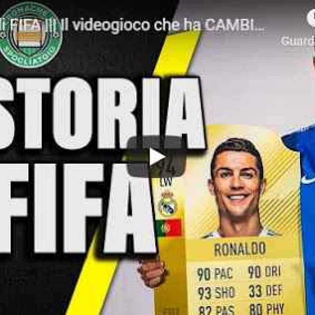 fifa storia videogioco calcio video