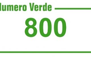 Tecnologie: numero verde