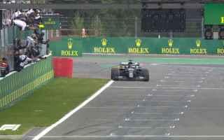 Nel Gp del Belgio nuovo dominio di Lewis Hamilton, precedendo Valtteri Bottas 2 e Max Verstappen 3.