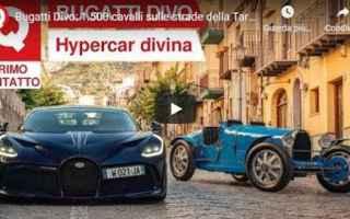 bugatti auto video motori lusso
