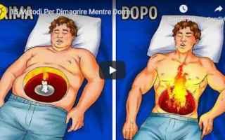 Salute: dimagrire video metodi salute benessere