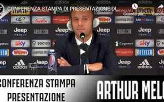 Serie A: juventus juve calcio video arthur nelo