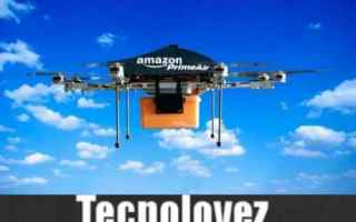 Amazon: amazon prime air amazon consegne droni