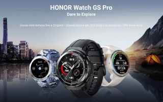Gadget: honor watch gs pro  honor  smartwatch
