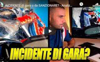 Motori: incidente moto motori salvadori video