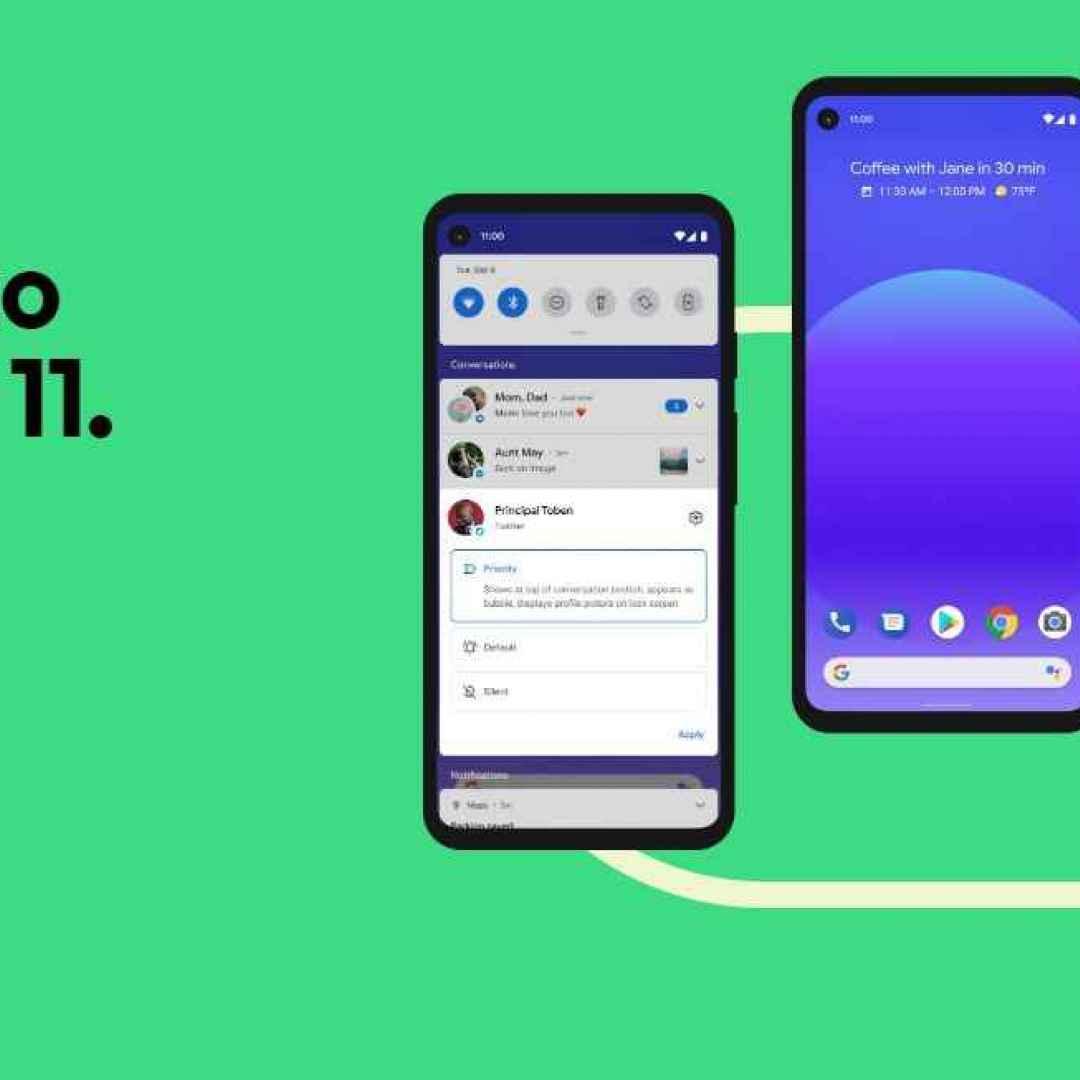 android 11  google  xiaomi  oneplus