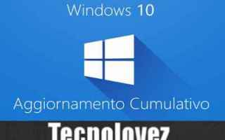 Computer: windows 10 kb4571756 aggiornamento
