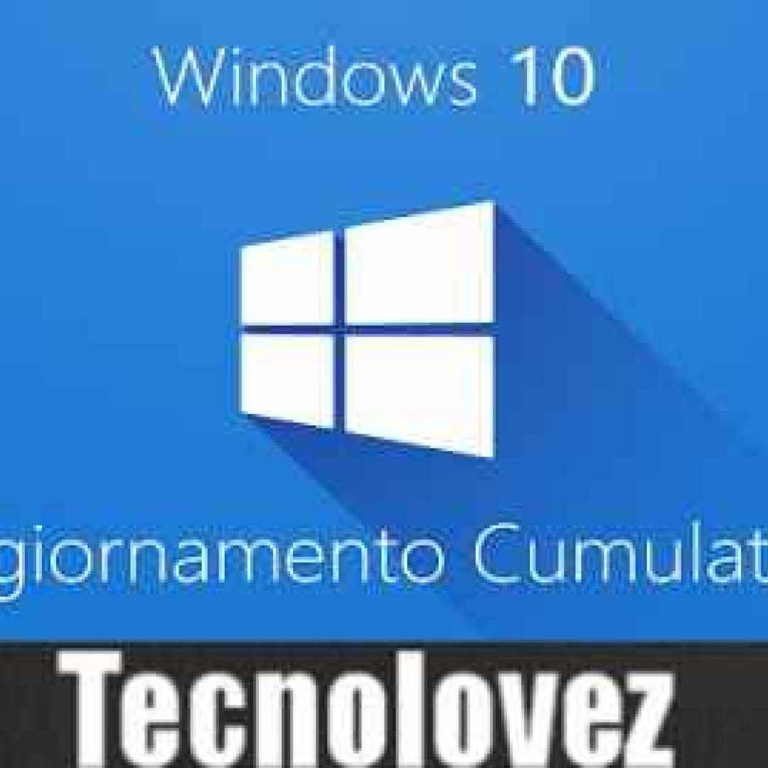 windows 10 kb4571756 aggiornamento