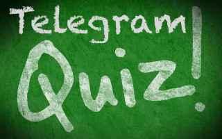 Social Network: creare  quiz  telegram