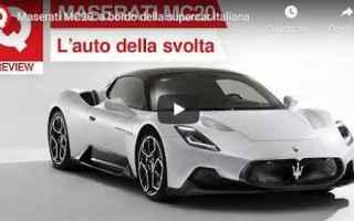 Motori: maserati video auto motori italia