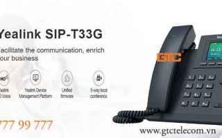 Yealink SIP-T33G - Điện thoại thế hệ mới <br />Điện thoại IP Yealink SIP-T33G là g