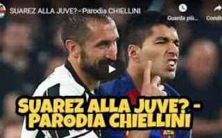 Calcio: gli autogol video chiellini juve parodia