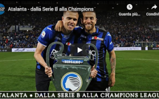 Serie A: atalanta video calcio storia bergamo