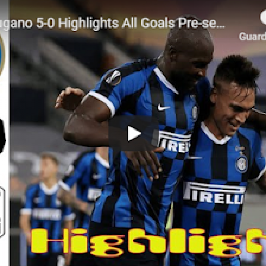 inter lugano video gol calcio