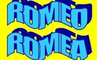 romeo  romea  etimologia