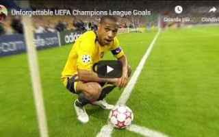 Champions League: gol video champions calcio europa