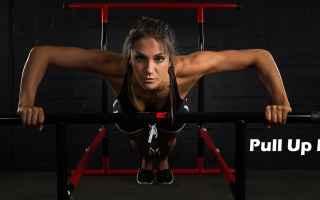 Fitness: torace  allenamento  trazioni