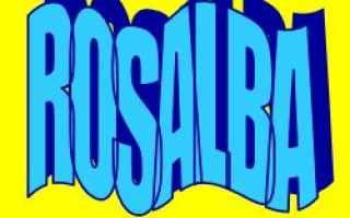 rosalba  significato  etimologia