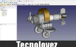 Design 2D 3D: freecad programma modellazione 3d