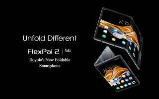 Tecnologie: royole flexpai 2  royole  flexpai 2