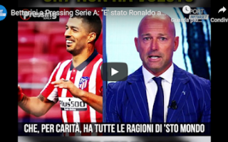 Serie A: juventus juve calcio video ronaldo