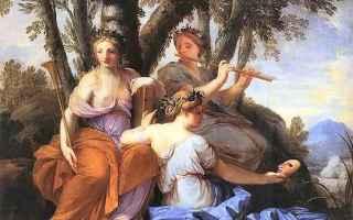 Cultura: muse  poesia bucolica  talia  tháleia